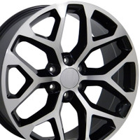 Snowflake Rim CK156 Machined Tahoe