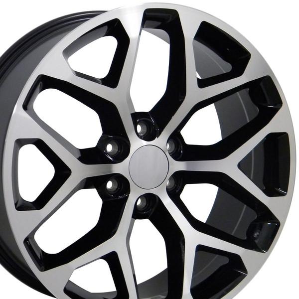 CK156 Snowflake Wheels 5668 Tahoe