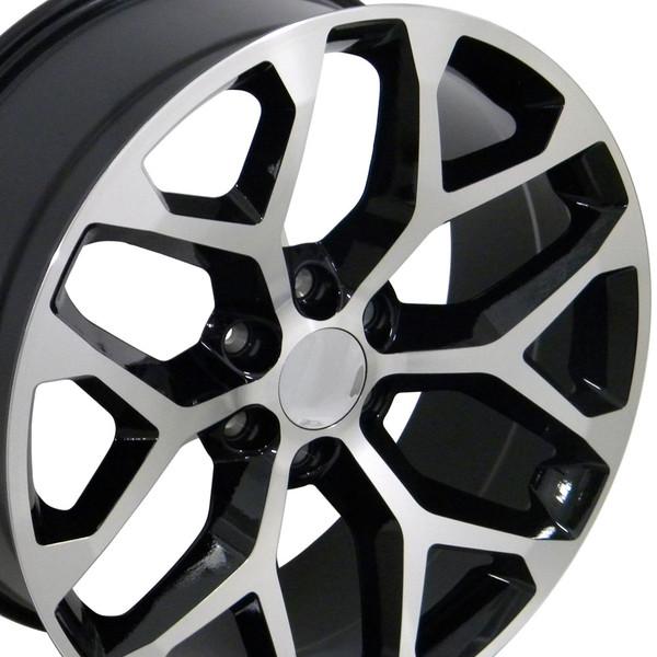 CK156 Snowflake Wheels Silverado