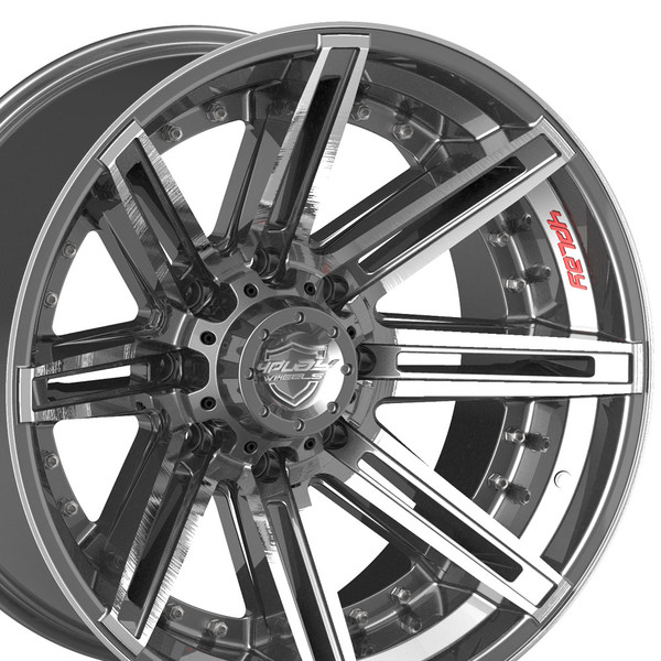 4PLAY Excursion 8 lug wheels