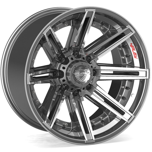 4PLAY Excursion 8 lug rims