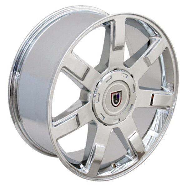 """22"""" Wheels For Cadillac Escalade CA80 22x9 Chrome Rims SET"""