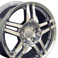17x8 Chrome rims for Acura TL
