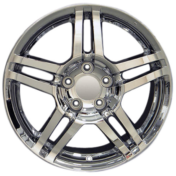 17x8 Chrome rims for Honda Civic