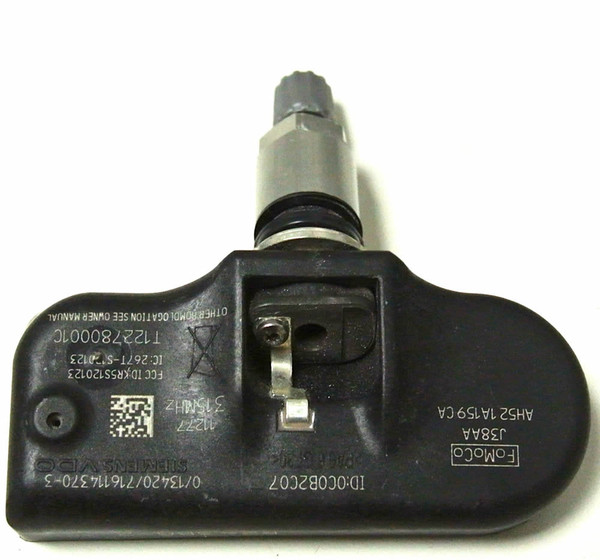 Jaguar S-Type (315 MHz sensors only) 2005-2006, S-Type (315 MHz sensors only) 2008, Jaguar Super V8 (315 MHz sensors only) 2005-2009, Vanden Plas (315 MHz sensors only) 2004-2009 TPMS, tire sensor