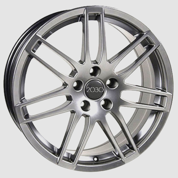 RS4 style wheel hyper silver fits audi a5