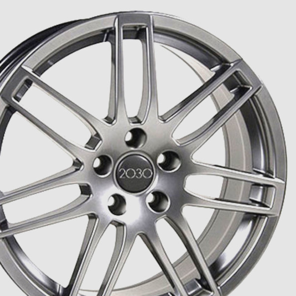 RS4 style wheel hyper silver fits audi a4
