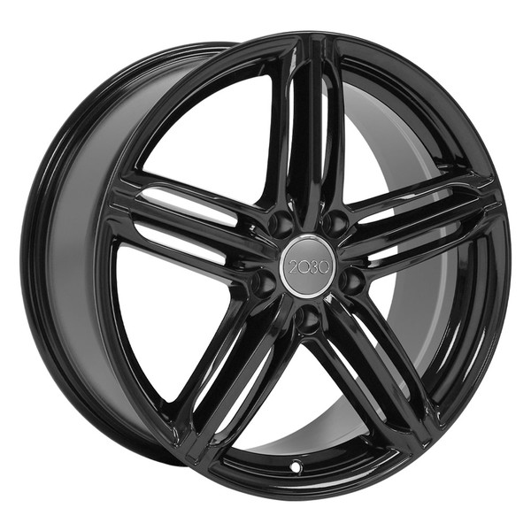 Gloss Black Audi RS6 Wheels 45
