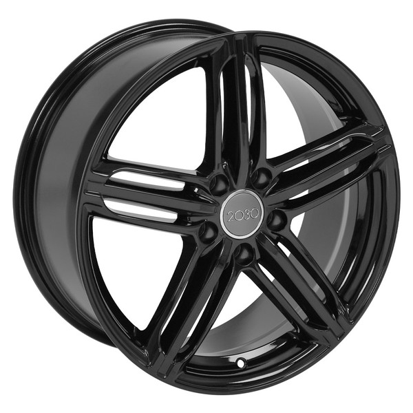 Audi RS6 Wheels Gloss Black 45