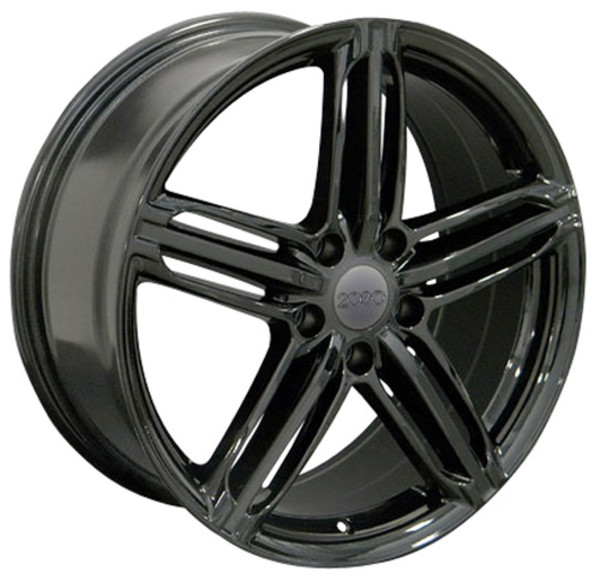 Gloss Black RS6 Wheels for Audi VW