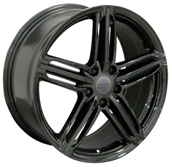 Gloss Black RS6 Wheels for Audi VW