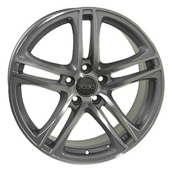 Audi R8 Style Replica Wheels & Tires Silver 17x7.5 SET