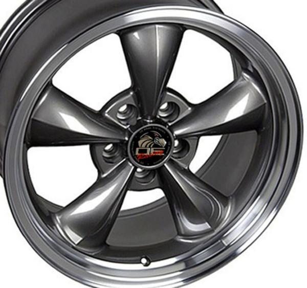 Mustang Bullitt Wheels