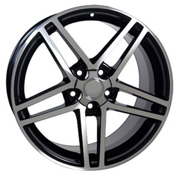 "Camaro C6 Z06 Replica Wheels 18"""