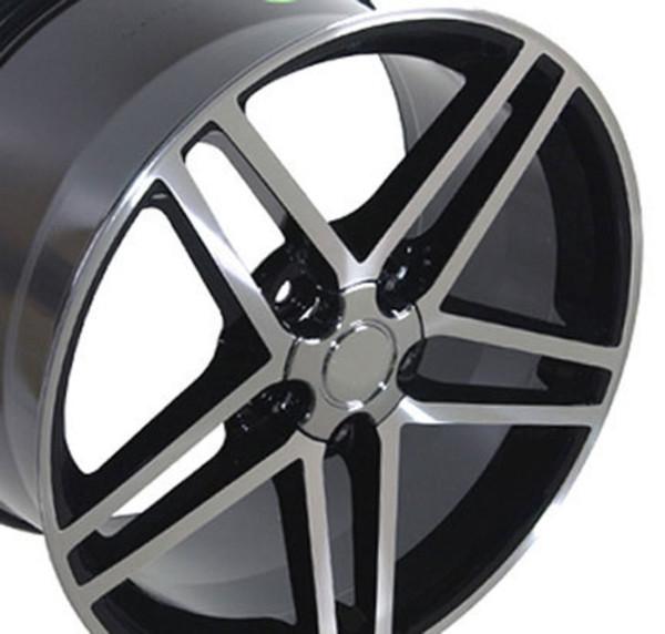 """Corvette C6 Z06 Replica Wheels 18"""""""