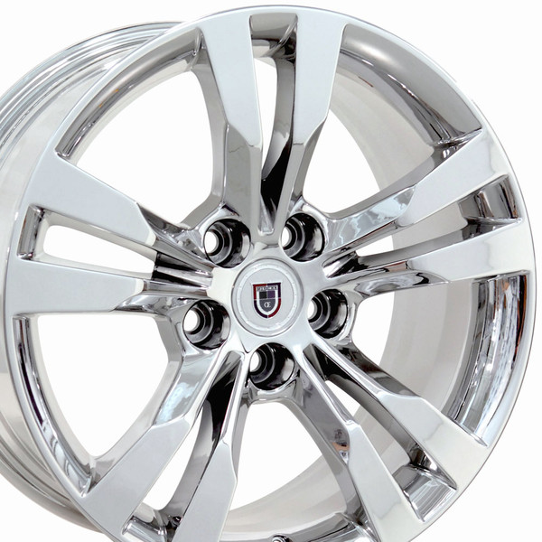 Cadillac Cts Style Replica Wheels Pvd Chrome 18x9 5 18x8 5 Set