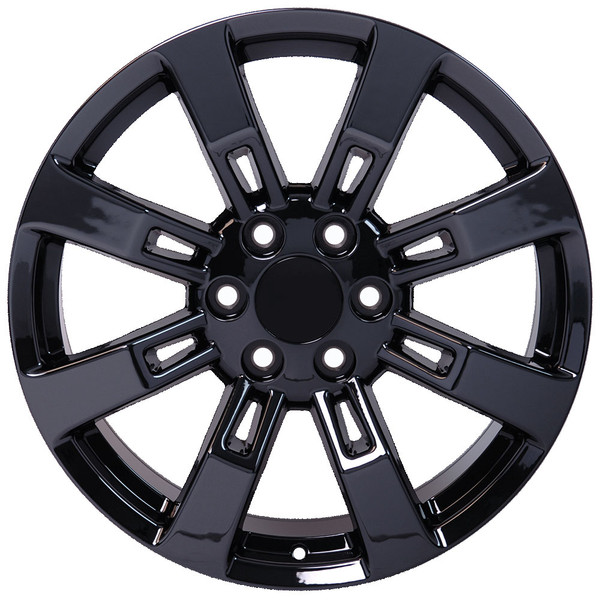 CA82 20 Inch PVD Black Chrome Rims Fit Cadillac Escalade