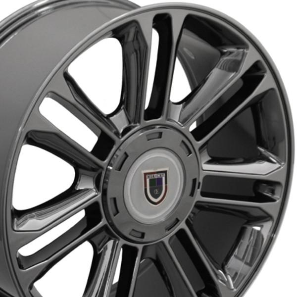 Cadillac Escalade Style Replica Wheels & Tires Black