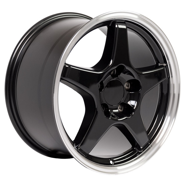 ZR1 style wheel tire set for Chevy