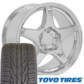 ZR1 style wheel Toyo tire set Chevy