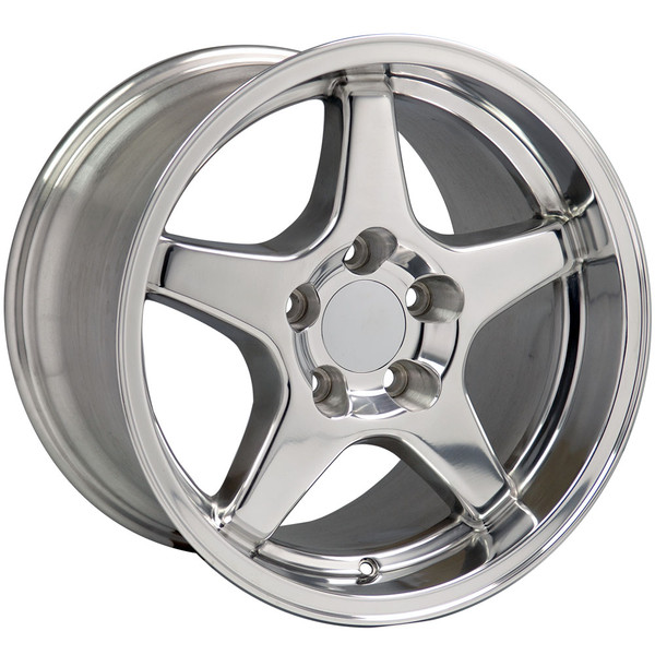 Staggered wheel tire set Chevy