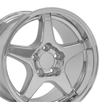 "ZR1 wheel 17"" Chrome"