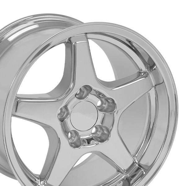 "17"" ZR1 wheel chrome"