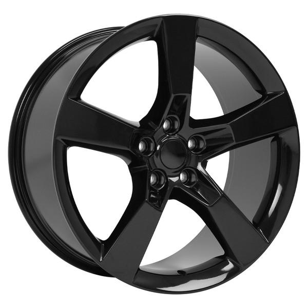 Black Rims Ironman Tires Tpms Fit Camaro Ss Style 20x9 Set