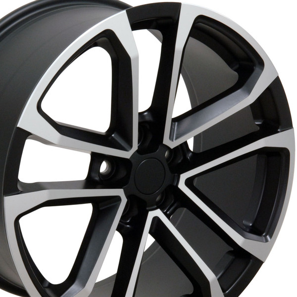 Satin Black Pocket Machined Rims Ironman Tires Tpms Fit Camaro Zl1 Style 20x8 5 Set