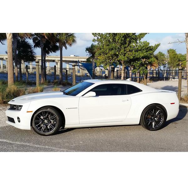 Hyper Black Wheel fits Chevrolet Camaro (ZL1 Style) - 20x8 5 SET