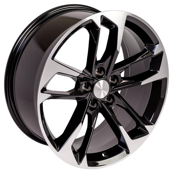 Camaro staggered wheel set