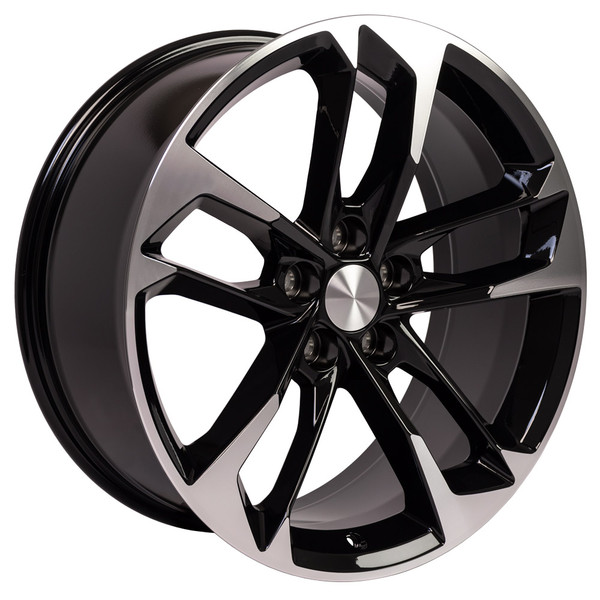 Black Camaro Rim 5815 50th