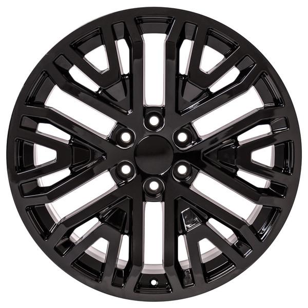 2019 Chevy Silverado Black Wheels