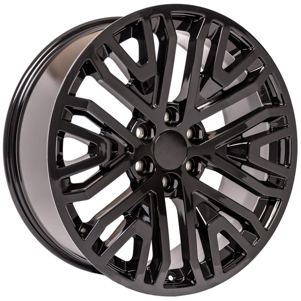 2019 GMC Sierra Black Wheels Rims