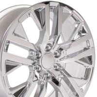 Hollander 5903 Chrome 22 inch GMC Sierra Wheel
