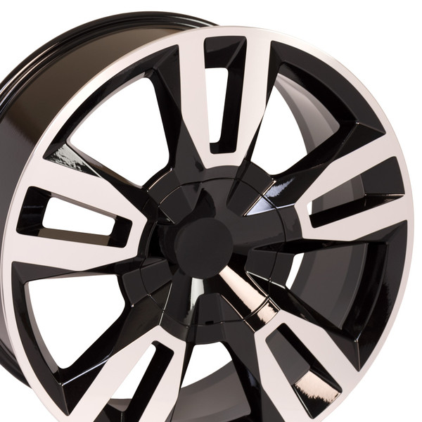 Black Machined RST Rally Rim