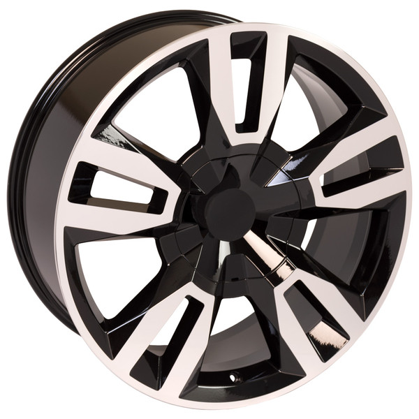 Black Rally RST Tahoe Wheel