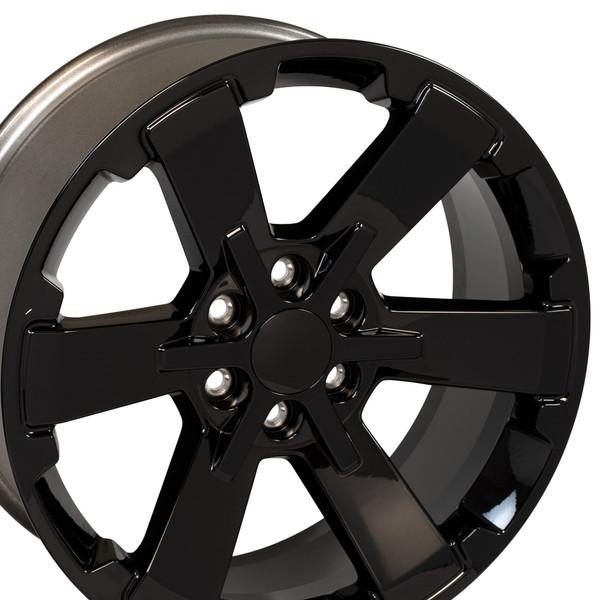 Hollander 5662 Chevy Rally Black