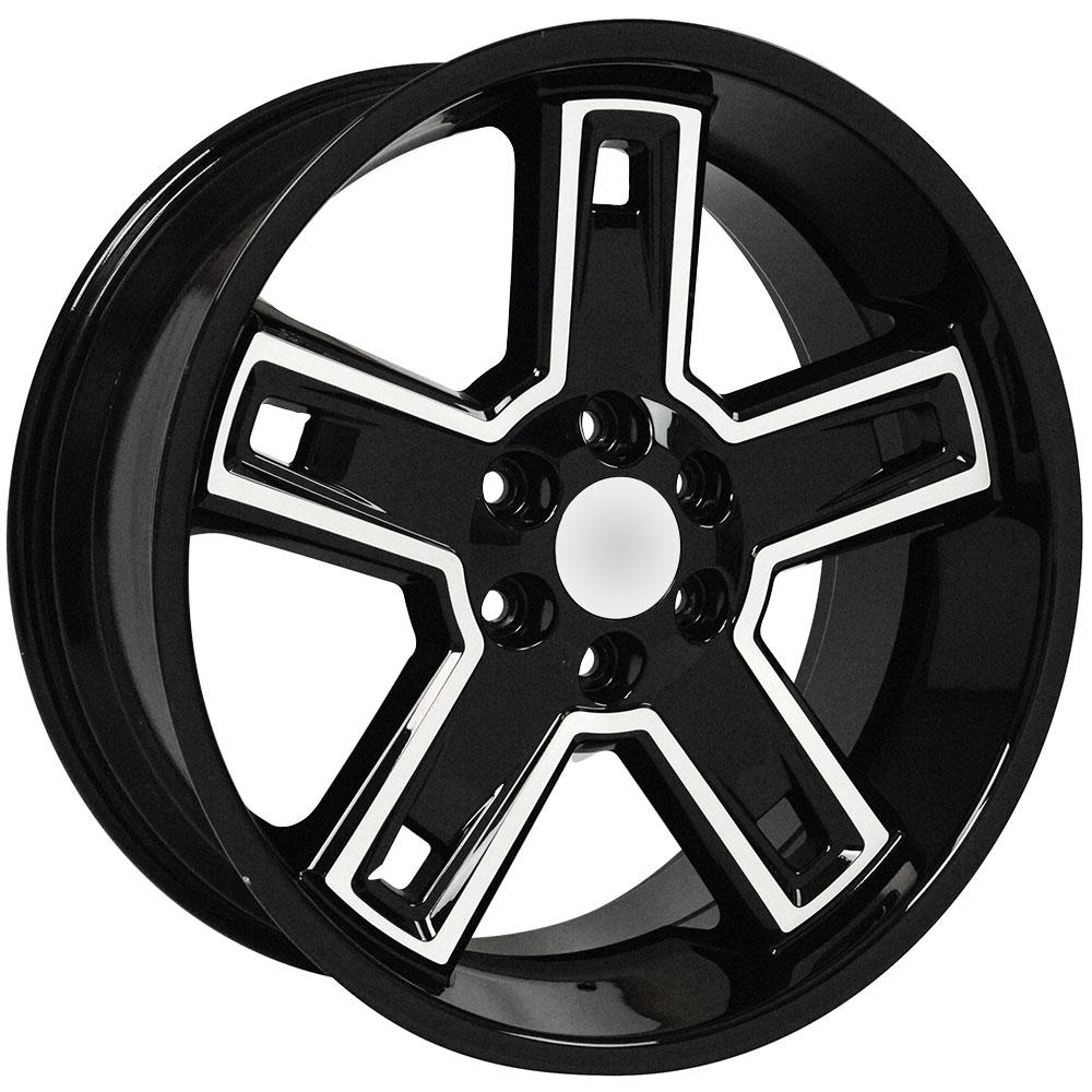 cv74 machined wheels bridgestone tires for chevy tahoe 22x9 5 set Grant Steering Wheel Silverado upc 9507828