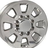 8 Lug Sierra style wheels polished for C2500