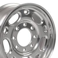 8 Lug Chevy wheel 16 inch polished for Suburban