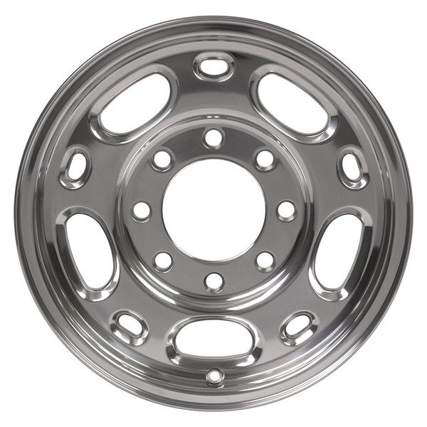 8 Lug Chevy wheel 16 inch polished for Express van