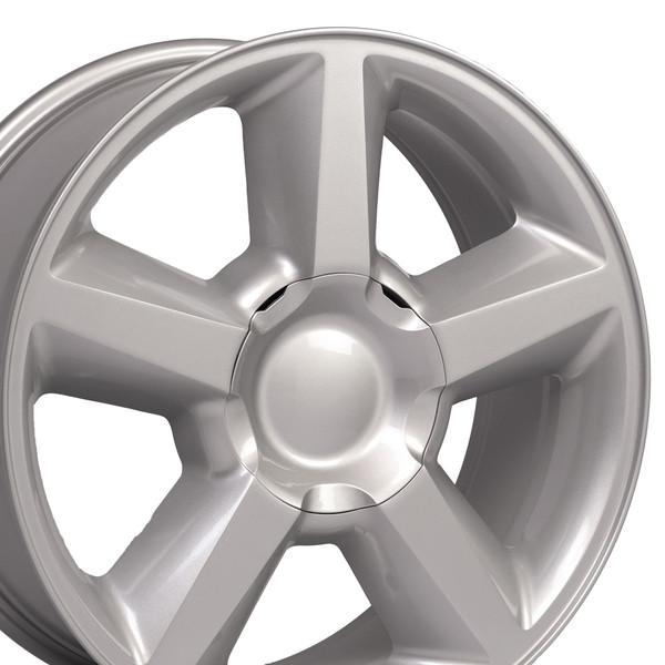 20 Wheels Fit Tahoe Silver Hollander 5308 Set