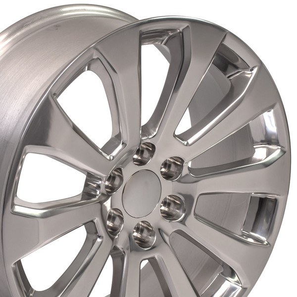 "CV95 22"" Wheels for Silverado High Country Rims Polished SET"