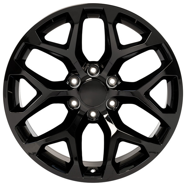 Black Snowflake Wheels