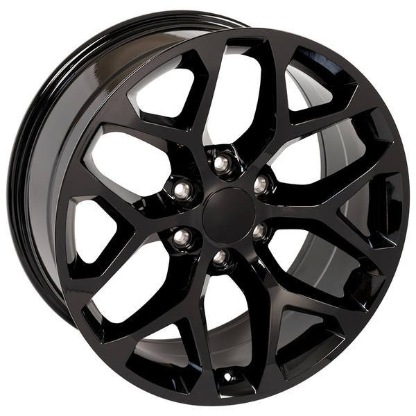 Snowflake Wheel Gloss Black 22 inch