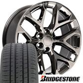 Black Chrome Rims Shop Black Chrome Wheels For Trucks Online At Oe Wheels