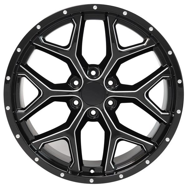 Snowflake Rim CK156 Yukon Wheel