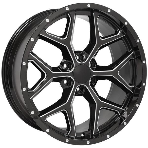 Snowflake Rim CK156 Escalade Wheel