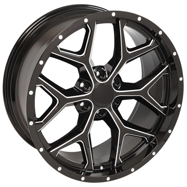Snowflake Rim CK156 Silverado Wheel